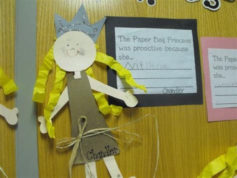 Paper Bag Princess Craft - 25 best images about the paper bag princess on