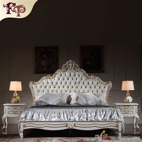 2017 antique reproduction furniture royalty bedroom