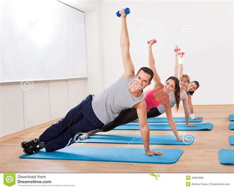 Mats For Working Out by Large Of Working Out In A Stock Photo