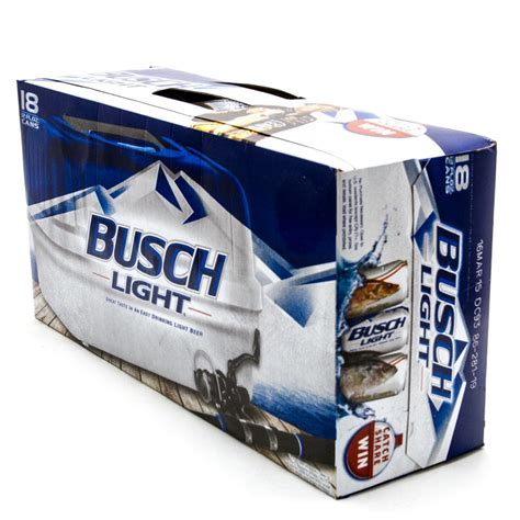 18 pack tecate light busch light 12oz can 18 pack wine and