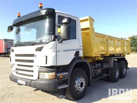 used scania p380 dump trucks year 2007 for sale mascus usa