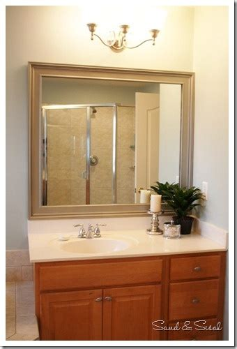 border for bathroom mirror 105 best images about bathroom redo ideas on pinterest