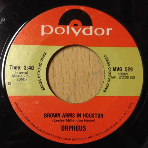 Find In Houston Orpheus 5 Brown Arms In Houston Can T Find The Time To Tell You Vinyl At Discogs