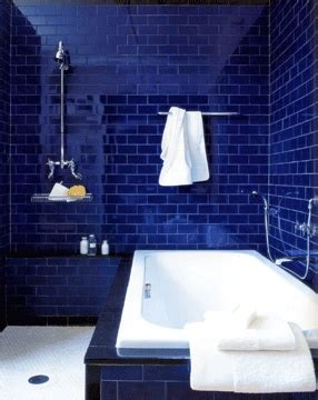 cobalt blue bathroom pin by q on blue pinterest