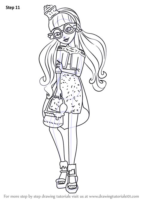 ever after high coloring pages gingerbread house learn how to draw ginger breadhouse from ever after high