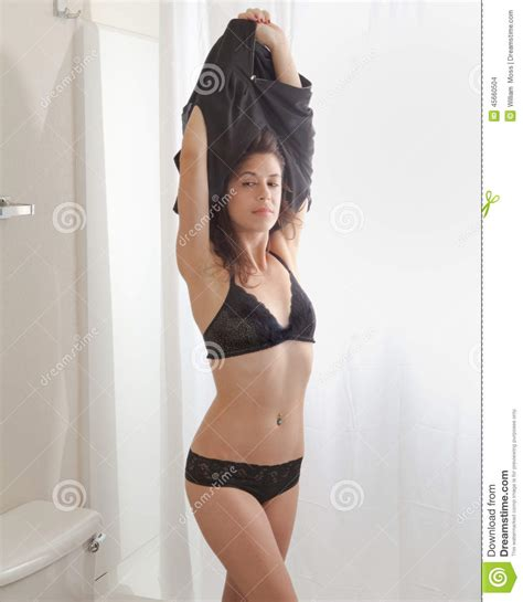 girls undressing in bathroom woman undressing in bathroom stock photo image of