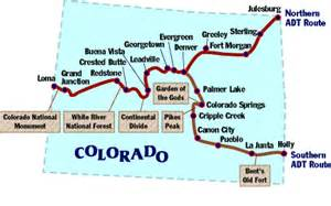 continental divide trail colorado map book covers