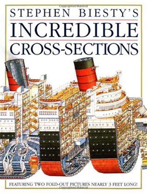 cross section book stephen biesty s incredible cross sections by stephen