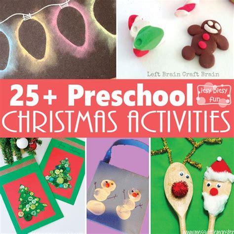 25 christmas crafts and activities for preschoolers