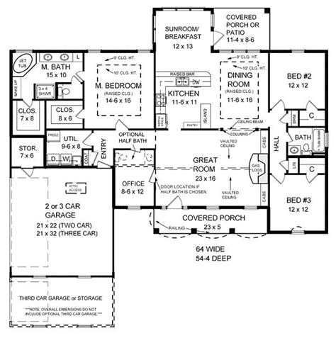 floor plans 2000 sq ft 2000 sq ft house plans