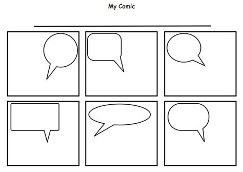 comic layout pinterest cartoon template printable the 25 best comic strip