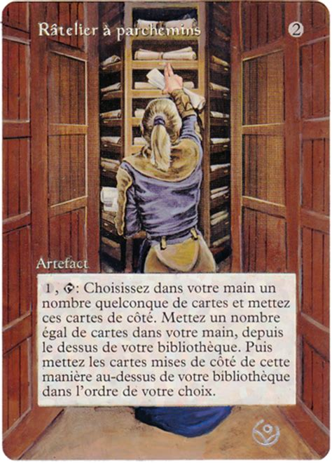 The Rack Deck Mtg by Vedalkenghurl Altered Card Scroll Rack By Addicted