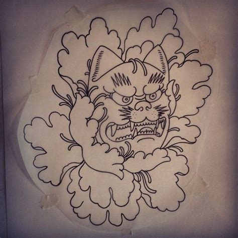 kabuki mask tattoo designs kabuki mask design instagram media by