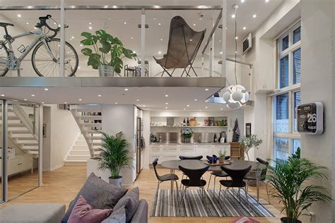 loft modern cool modern loft apartment in gothenburg idesignarch