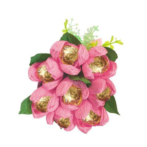 desain bunga untuk ruangan buket bunga tulip coklat golden crown 8pc desain elegan