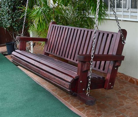 backyard swing bench fun wooden garden swing seats outdoor furniture