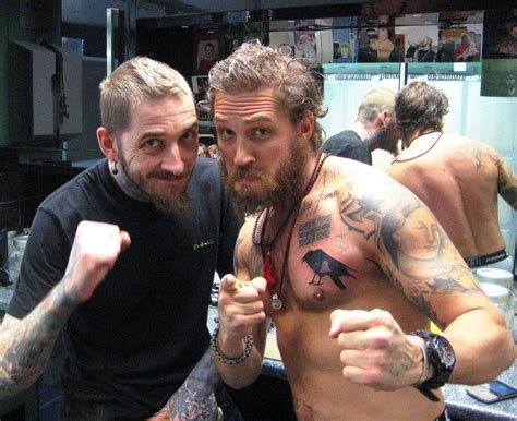 tom hardy tattoo new tom hardy