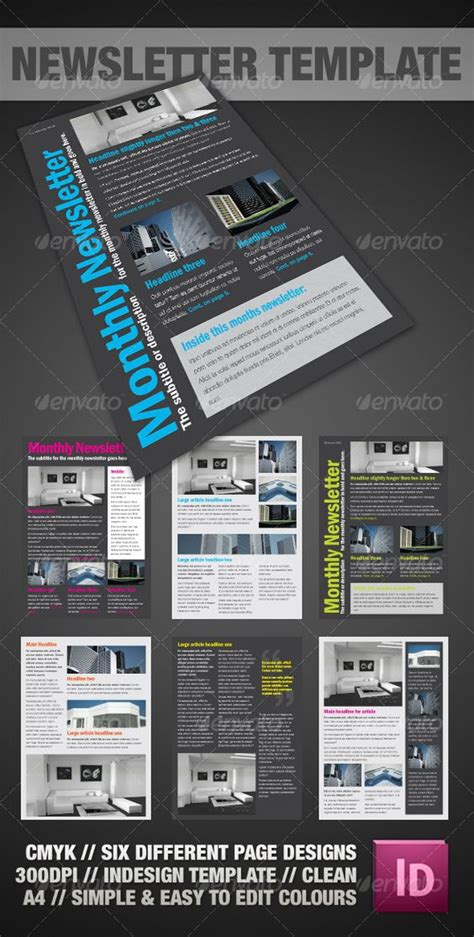 layout for newsletter indesign clear a4 newsletter indesign newsletter templates