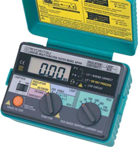 Sale Tester Kyoritsu Multi Function Testers Model 6018 jual kyoritsu model 6010a