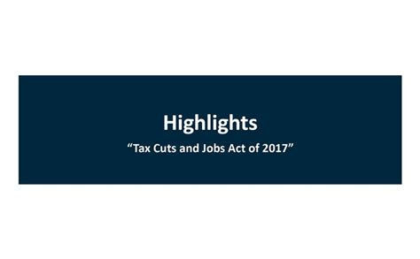 tax cuts and act of 2017 explanation and analysis books highlights tax cuts and act of 2017 blue co llc