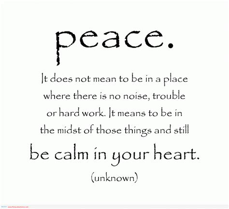 better the feel place best quotes about peace quotesgram