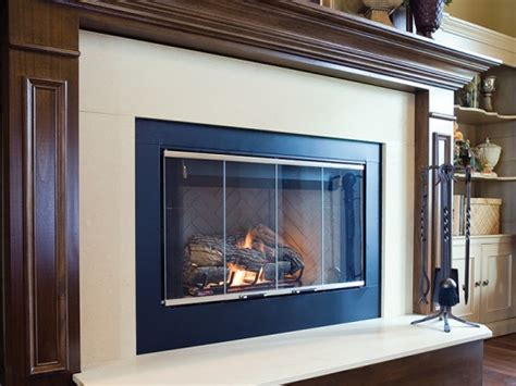 quartz fireplace surround custom fabrication at marble
