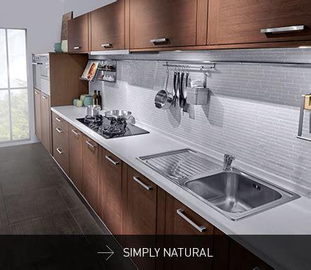 Sleek Linear Signature Kitchen