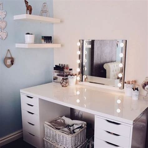 girls vanities for bedroom picture of corner vanity with lights to make a teen girl feel like a star
