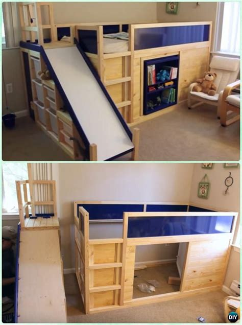 diy kids bed diy kids bunk bed free plans playhouses bunk bed and kids rooms
