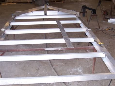 aluminum boat trailer design utility trailer plans collares pinterest trailer