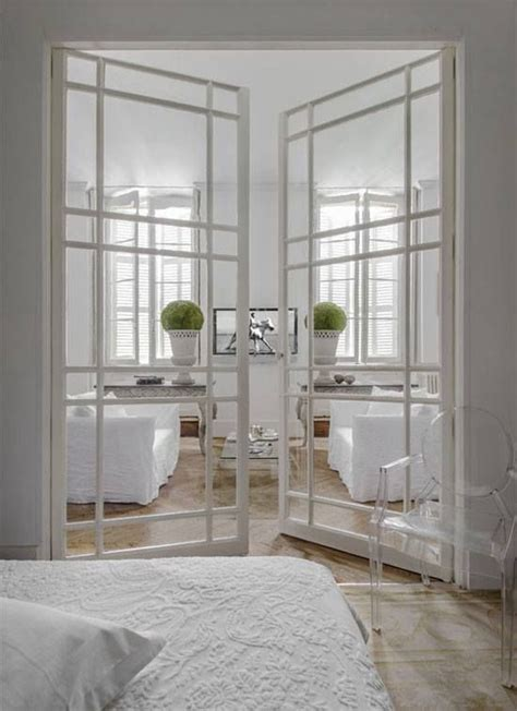 Interior Glass Doors White 33 Stylish Interior Glass Doors Ideas To Rock Digsdigs