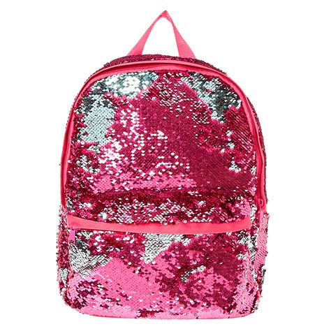 Where Can You Buy Claire Gift Cards - reversible pink to mint sequin backpack claire s ca