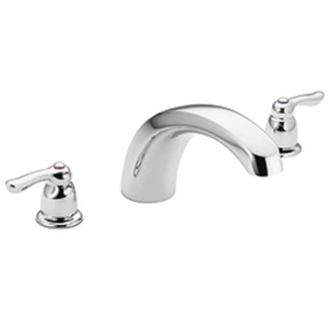 Moen Chateau Bathroom Faucet by Moen T990 Chateau Two Handle Tub Faucet Trim Chrome Faucetdepot
