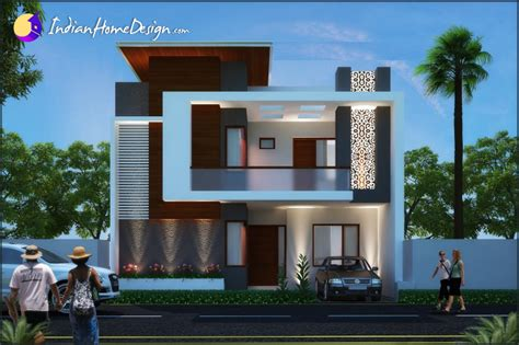 indian home design plans with photos modern contemporary indian home design by unique