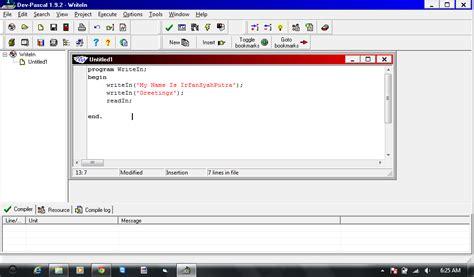 tutorial php untuk pemula tutorial pascal untuk pemula writein irfansyahputra