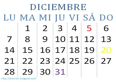 Calendario Mes Calendario Mes De Diciembre Newhairstylesformen2014