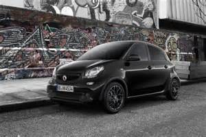 now you can get the smart fortwo and forfour in black and