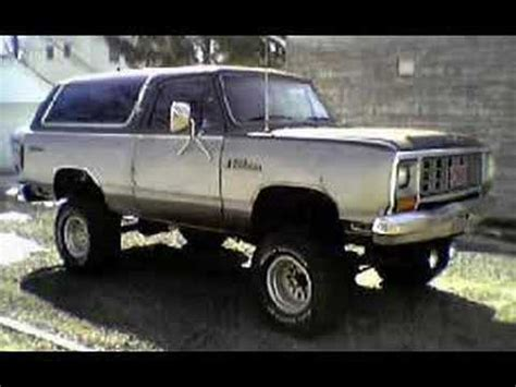 chevy blazers dodge ramchargers and ford broncos