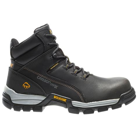 work world boots wolverine mens tarmac waterproof reflective composite toe