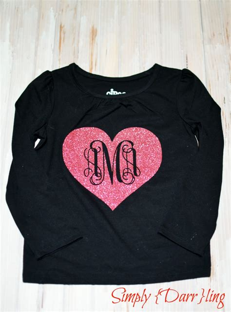 valentines day shirts for valentines day monogram simply darr