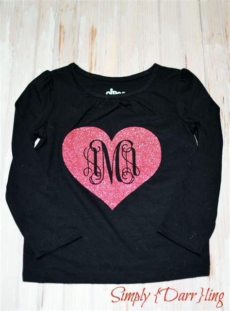valentines day shirt valentines day monogram simply darr