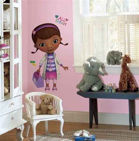 new doc mcstuffins wall decals disney stickers