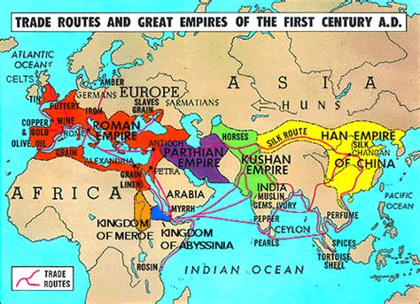trade routes of the ottoman empire ridgeaphistory the decline of han china rome