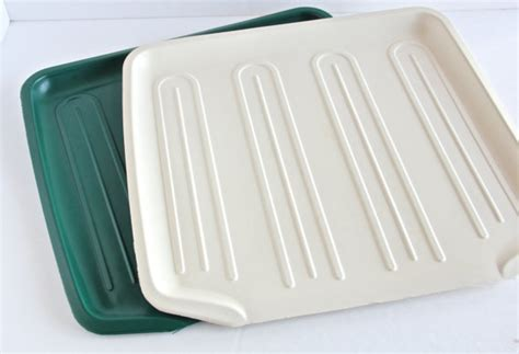Dish Drainer Mat items similar to rubbermaid drainboard mat dish drainer drying rack tray green or almond