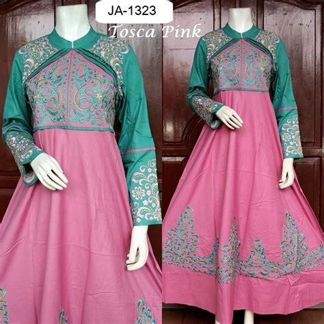 Grosir Baju Muslim Anak Tanah Abang Baju Pesta Katun Princess Cerah 4 Warna Baju Pesta