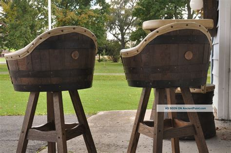 Whiskey Barrel Bar Stools by 1000 Images About Houspiration Room On