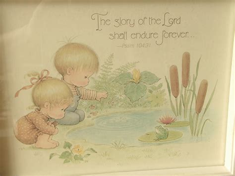 Precious Moments Nursery Decor with Vintage Nursery Decor Precious Moments Print By Shoponsherman