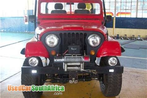 Willys Jeeps For Sale In Sa 1981 Jeep Willys Used Car For Sale In Carletonville