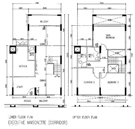 Singapore Watch 187 Blog Archive 187 Hdb Flat Types Models Two Storey House Plans With Flat
