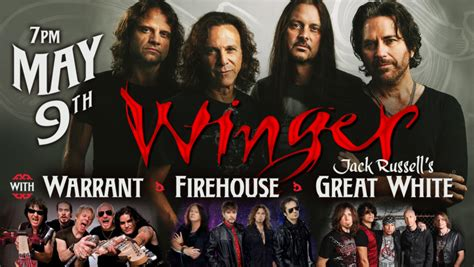 Warrant Search Omaha Upcoming Events Winger Warrant Firehouse And
